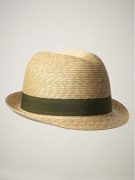Gap Straw Fidora Hat