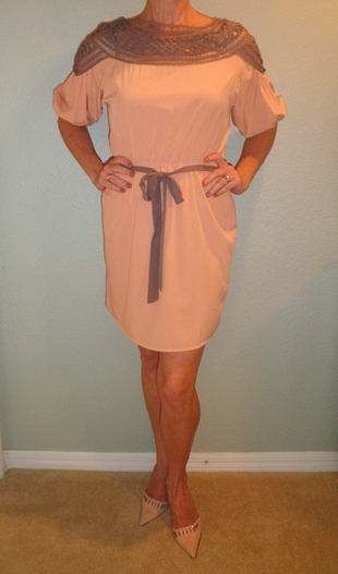 MS-Peach Esley Dress2