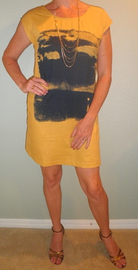 MS-Yellow Esley Dress