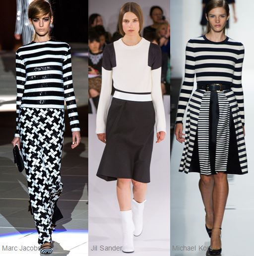 Black and White Runway Spring 2013