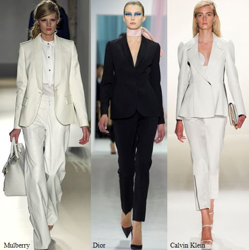Spring 2013 Runway Trend- Monochromatic Pant Suits