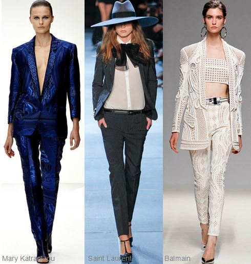 Spring 2013 Runway Trend- Printed Pant Suits