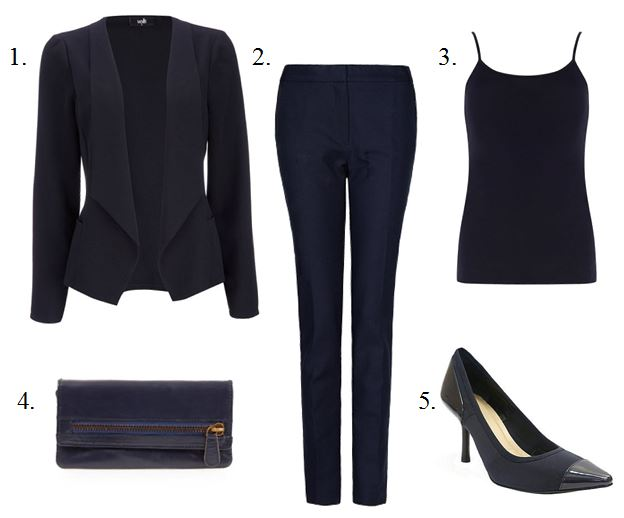 Spring 2013 Translation- Monochromatic Pant Suits
