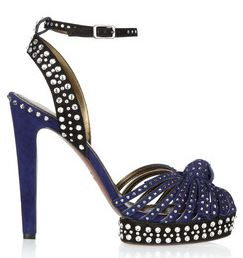 Lanvin Blue High Heels
