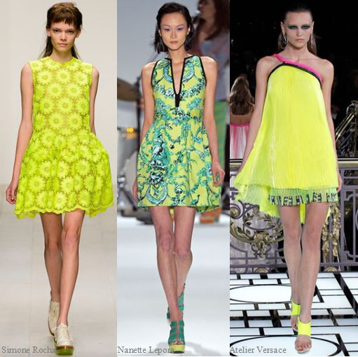 Spring 2013 Runway Trend- Bright Yellow Dress