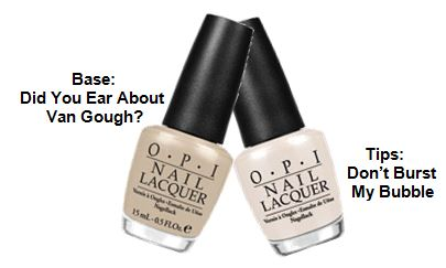 Spring 2013 Runway Trend- Nails Au Naturel OPI INSERT