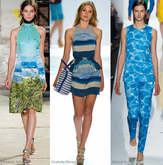 Spring 2013 Runway Trend- Water Effect