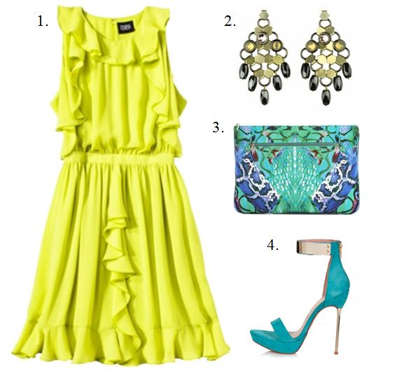 Spring 2013 Translation- Bright Yellow Dress