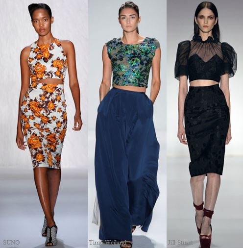 Spring 2013 Runway Trend- Bare Midriff