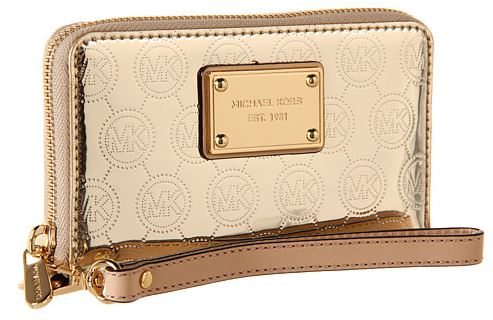 Michael Kors Gold Phone Wristlet