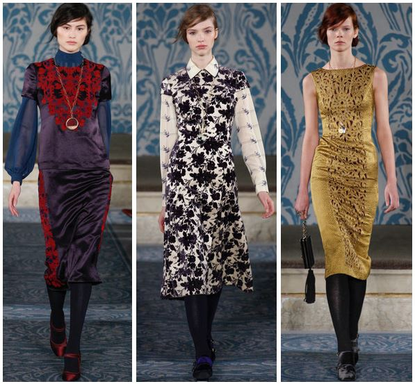 Tory Burch Fall 2013 Runway Cluster