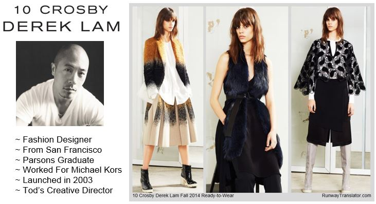 10 Crosby by Derek Lam- Fall 2014 RTW at NYFW