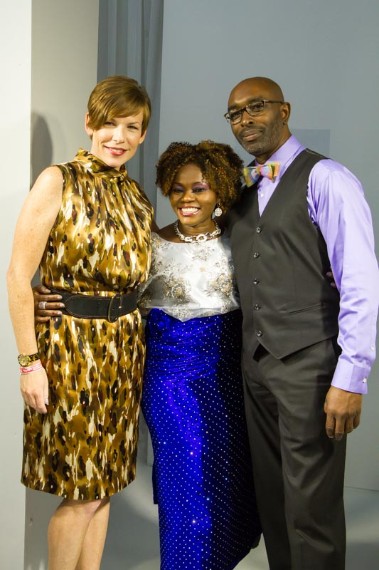Haute 2014-Me and Shola and Lacey