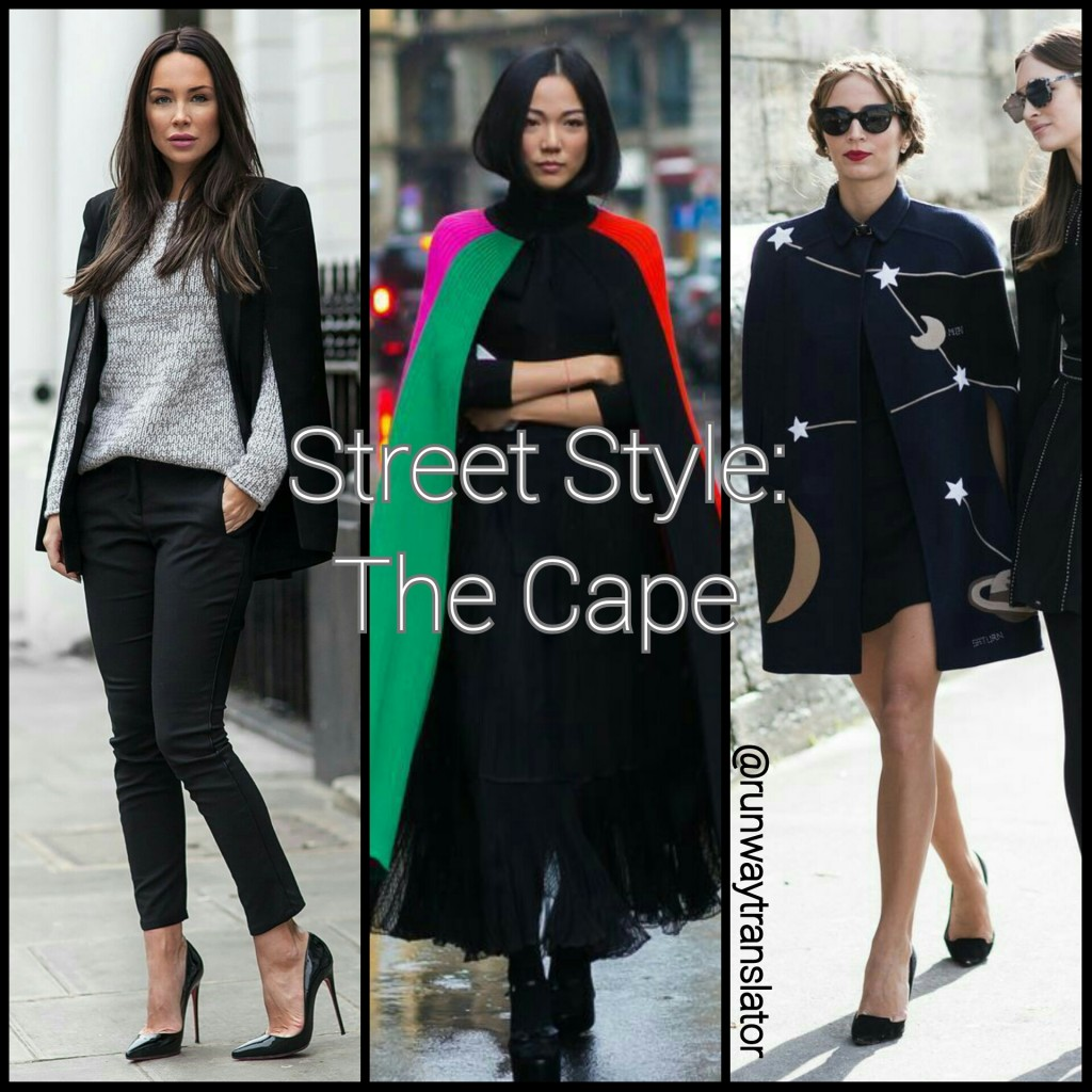 Street Style Capes