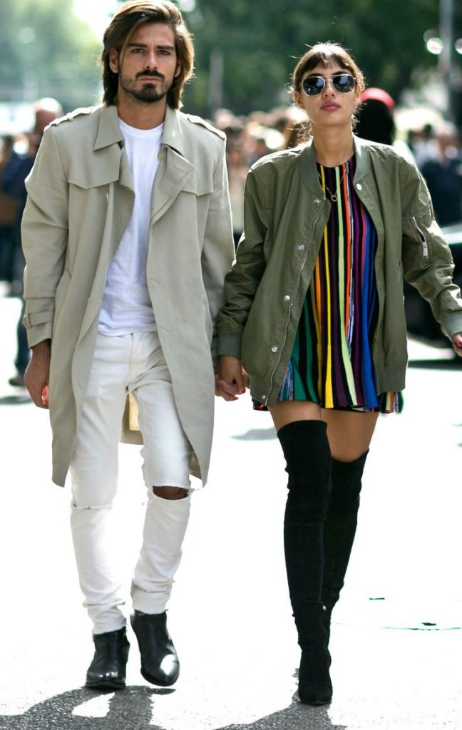 Couples With Fashion Style