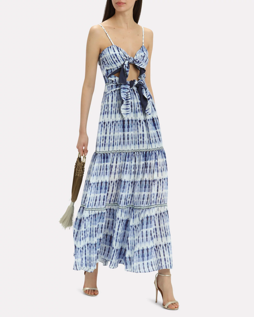 Jonathan Simkhai Tie Dye Dress at Intermix