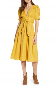 Moon River Yellow Dress Nordstrom