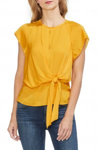 Vince Camuto Yellow Top Nordstrom